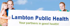 Lambton Public Health website link